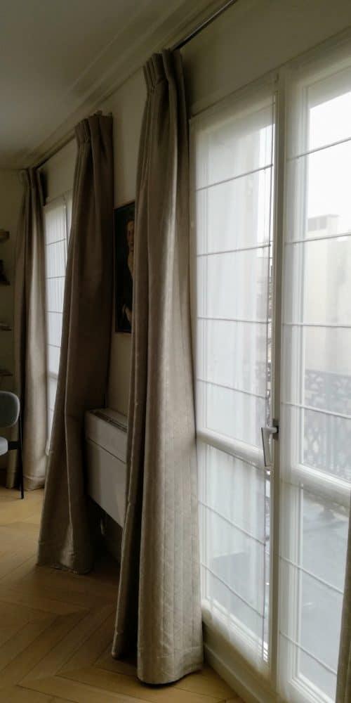 Confection de rideaux et voilages
