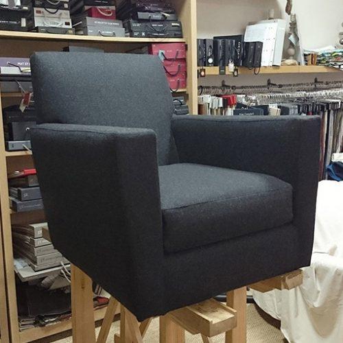 Conception de housse de fauteuil sur mesure