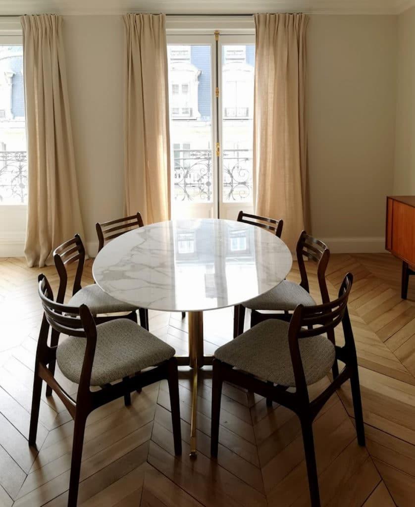 projet louvre espace salle à manger